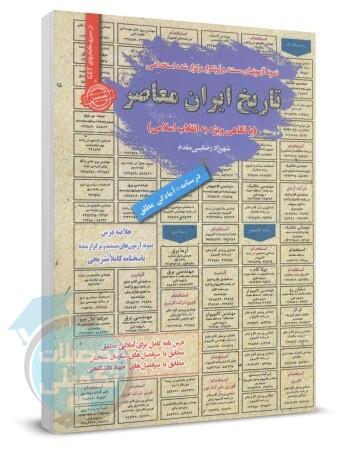 خلاصه درس و تست استخدامی تاریخ ایران معاصر, نمونه سوالات استخدامی دبیری تاریخ