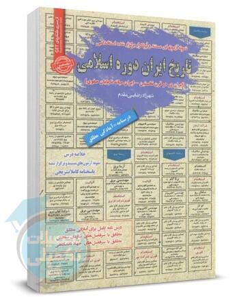 خلاصه درس و تست استخدامی تاریخ ایران دوره اسلامی, نمونه سوالات استخدامی دبیری تاریخ